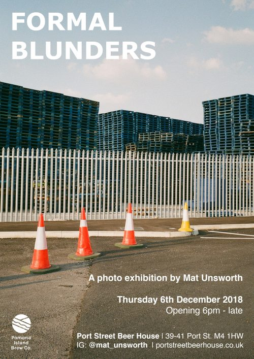 Formal Blunders Mat Unsworth exhibition launch 06/12/18